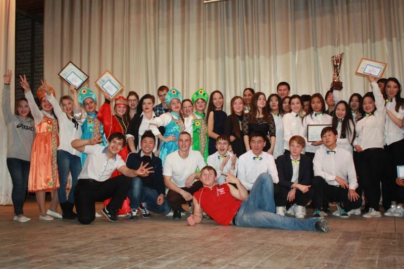 Большое посвящение в студенты КалмГУ