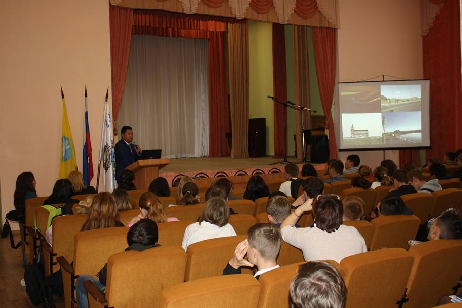 Встреча со студентами КалмГУ