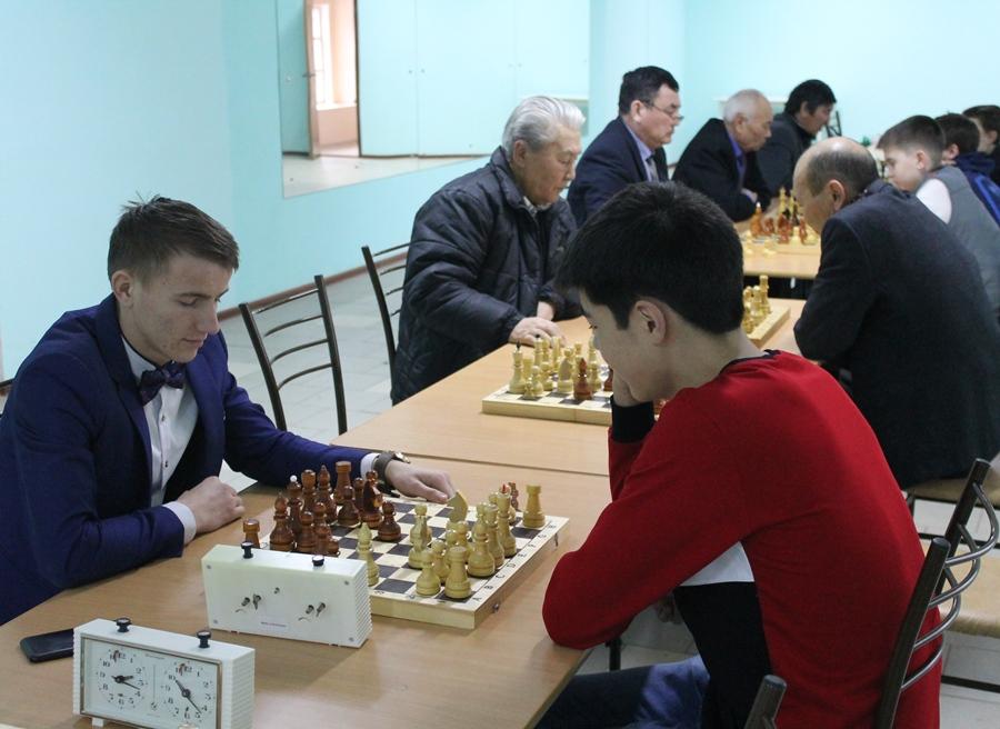 Первенство района по шахматам