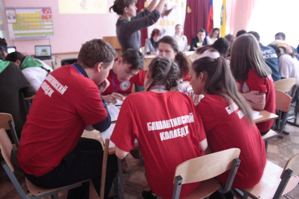 Участие студентов Башантинского колледжа в Фестивале науки