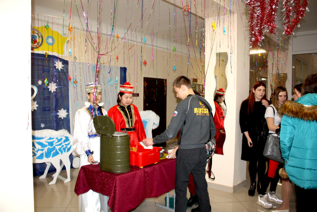 Чаепитие, посвященное национальному празднику  Зул